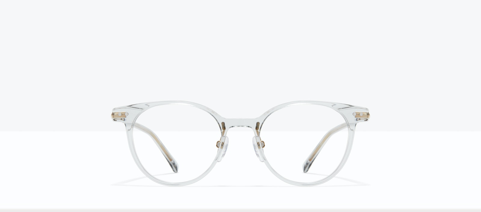 Affordable Fashion Glasses Round Eyeglasses Women Lightheart M Taupe Front