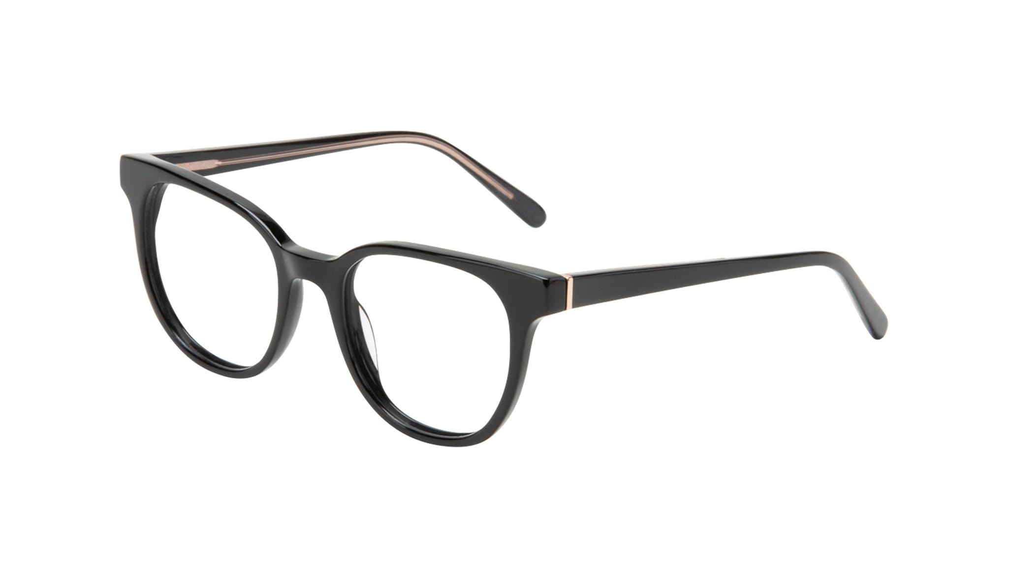Affordable Fashion Glasses Square Eyeglasses Women Lively Black Tilt