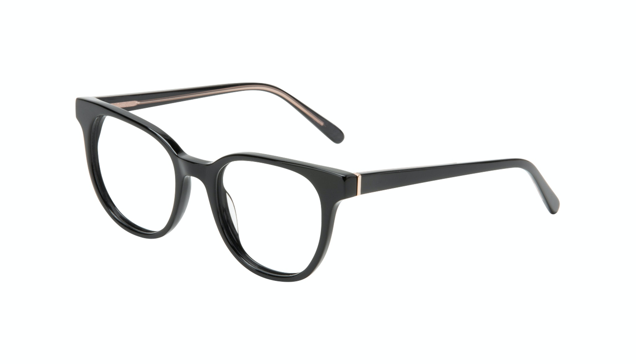 Affordable Fashion Glasses Square Eyeglasses Women Lively Black Tilt