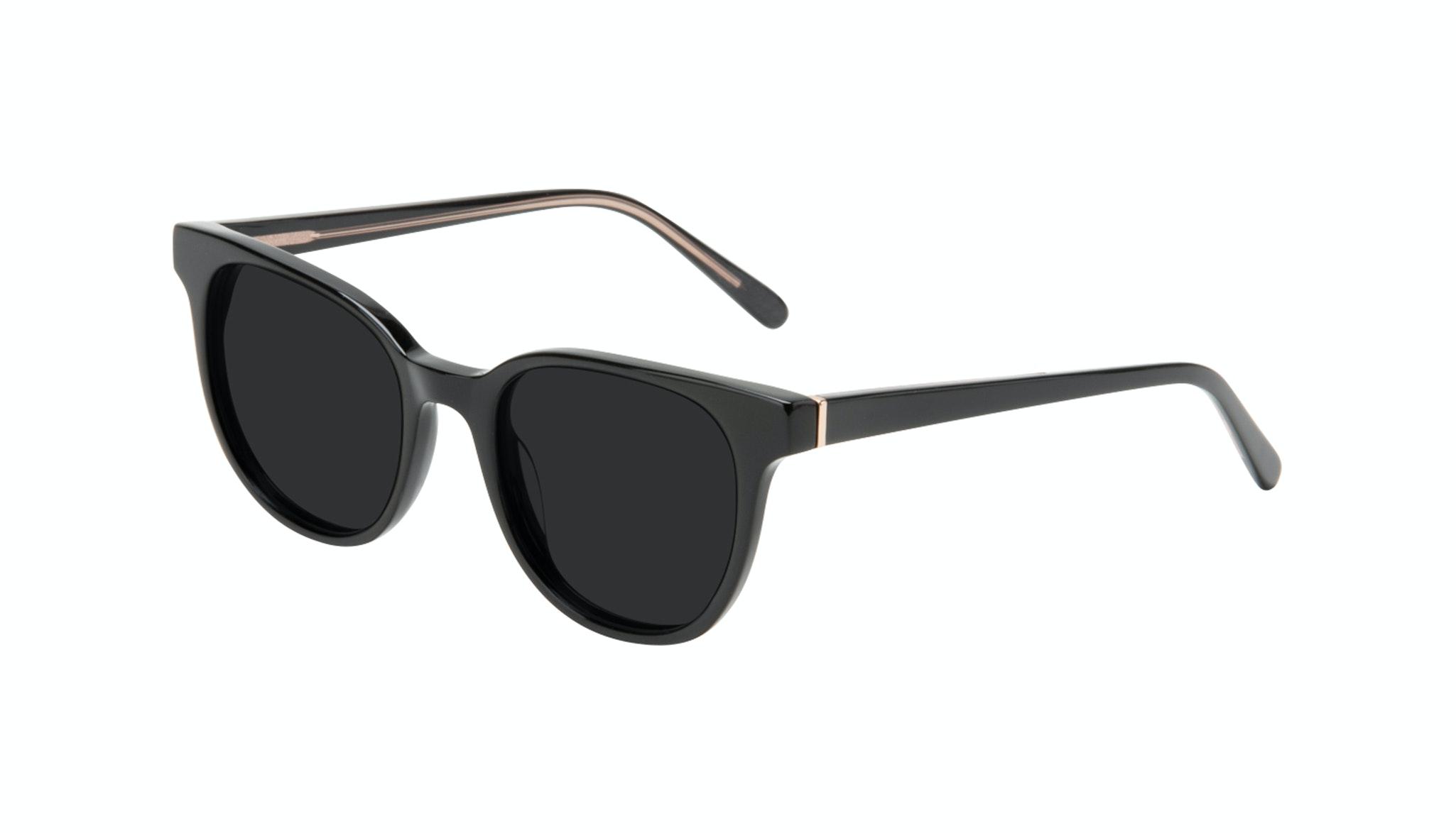 Affordable Fashion Glasses Square Sunglasses Women Lively Black Tilt