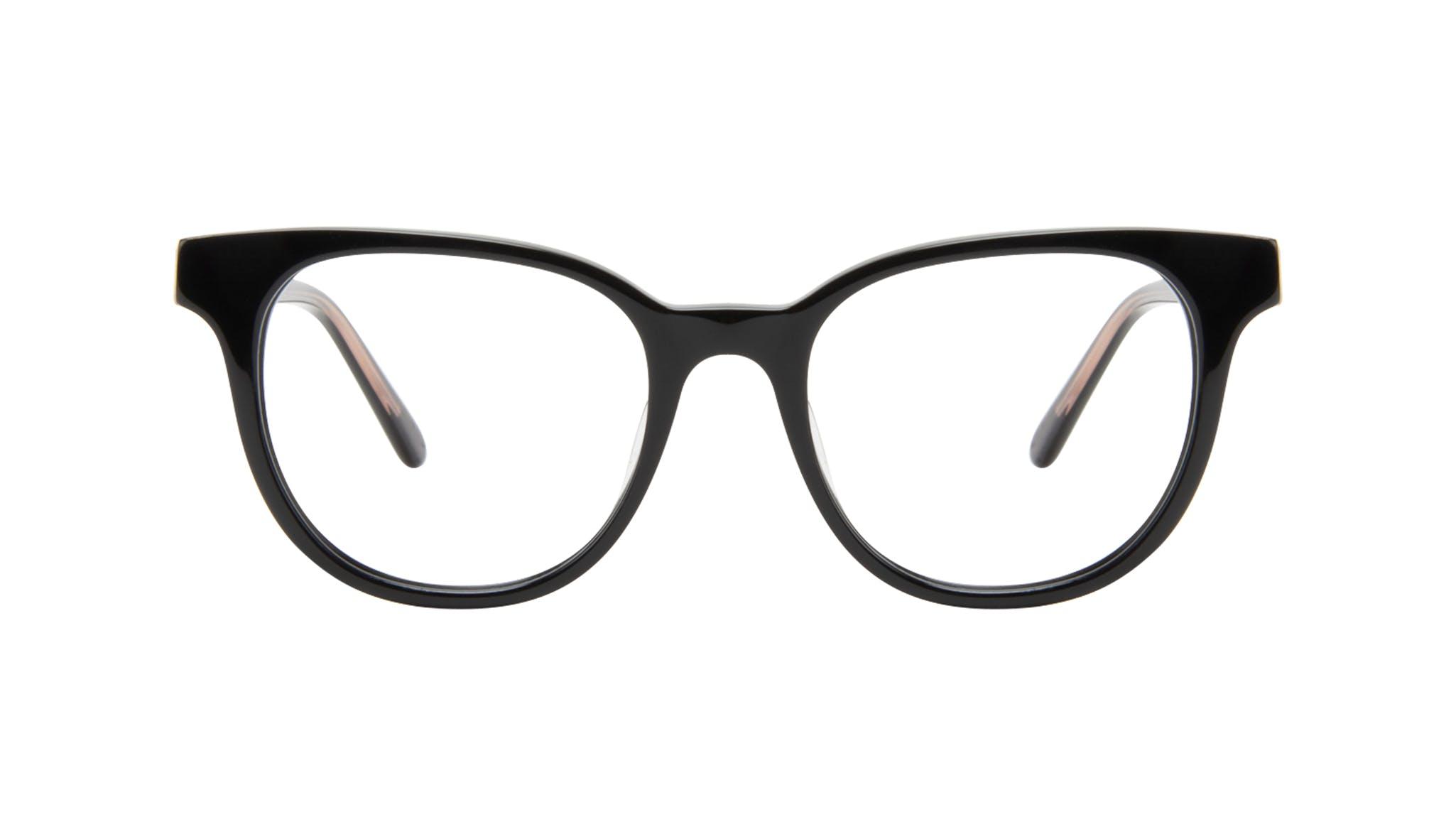 Affordable Fashion Glasses Square Eyeglasses Women Lively Black Front
