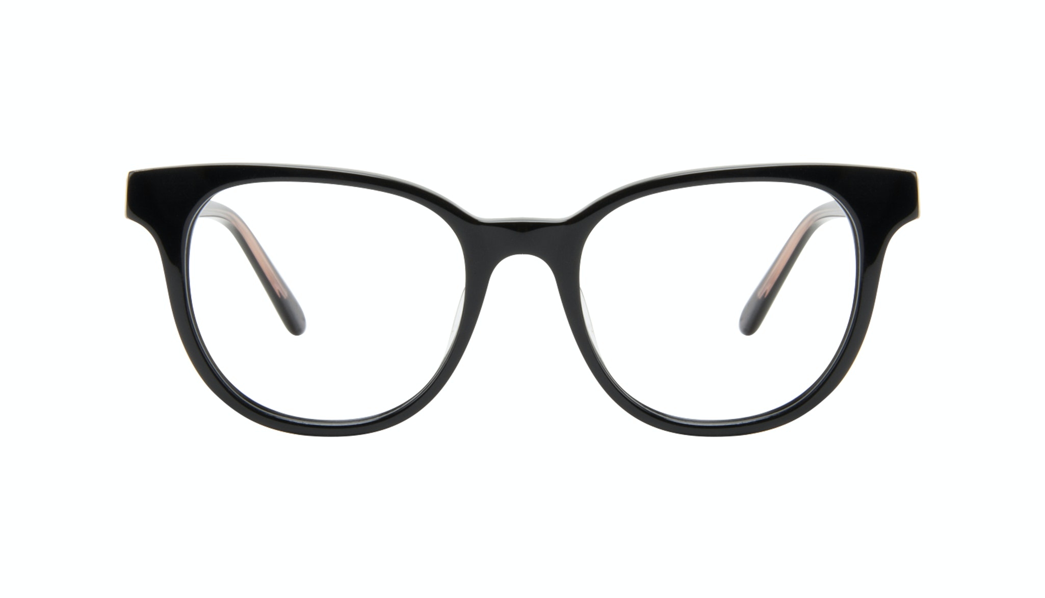 Affordable Fashion Glasses Square Eyeglasses Women Lively Black Front
