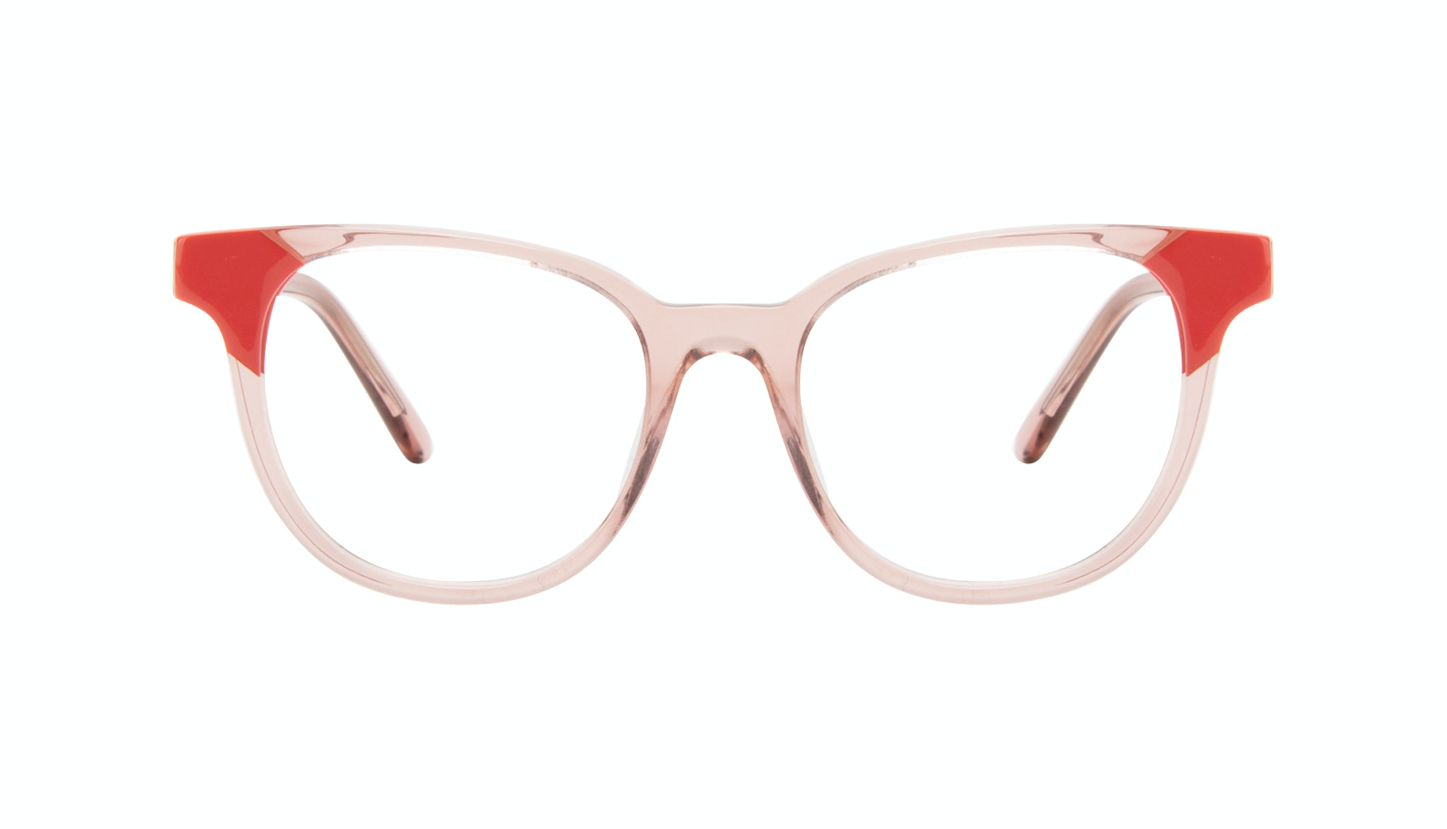 Affordable Fashion Glasses Square Eyeglasses Women Lively Pink Coral
