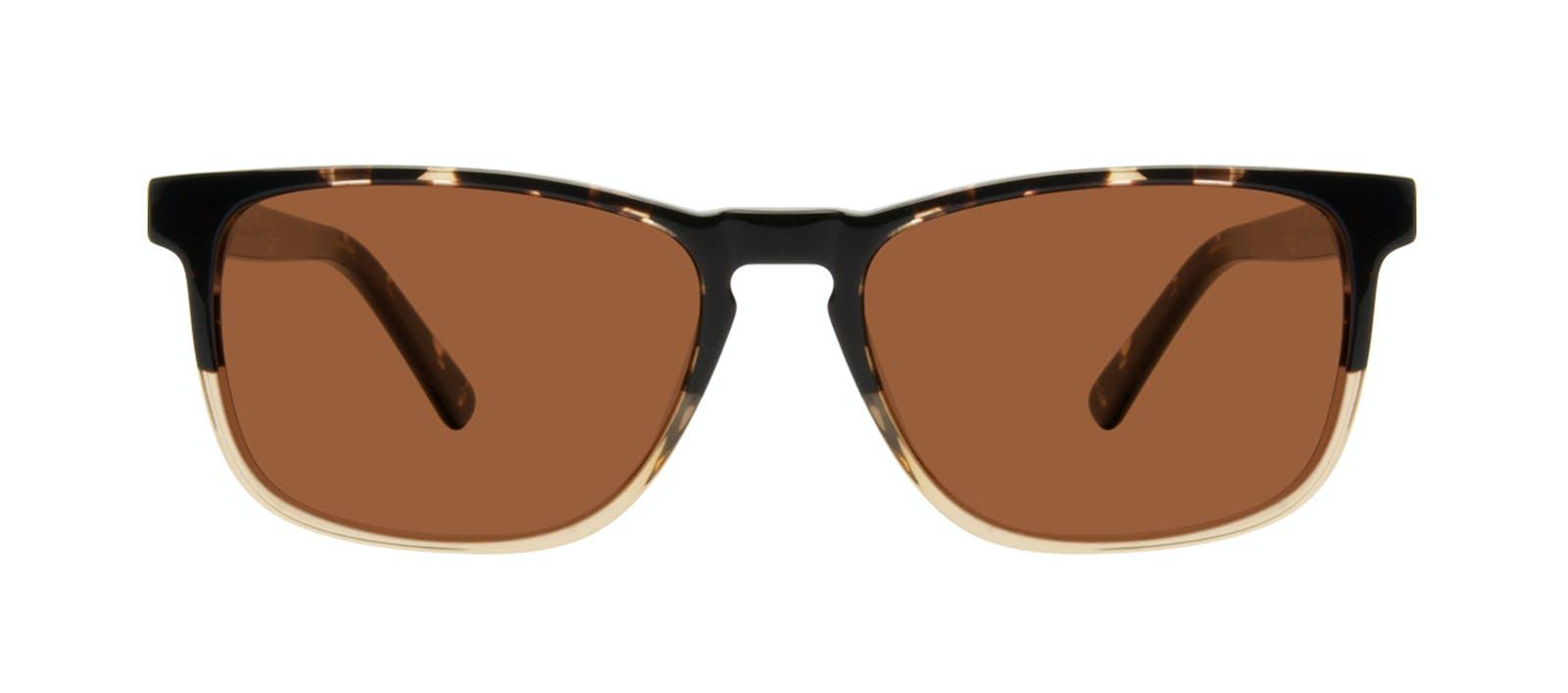 4c6f1c009c Affordable Fashion Glasses Rectangle Sunglasses Men Loft Golden Tortoise  Front