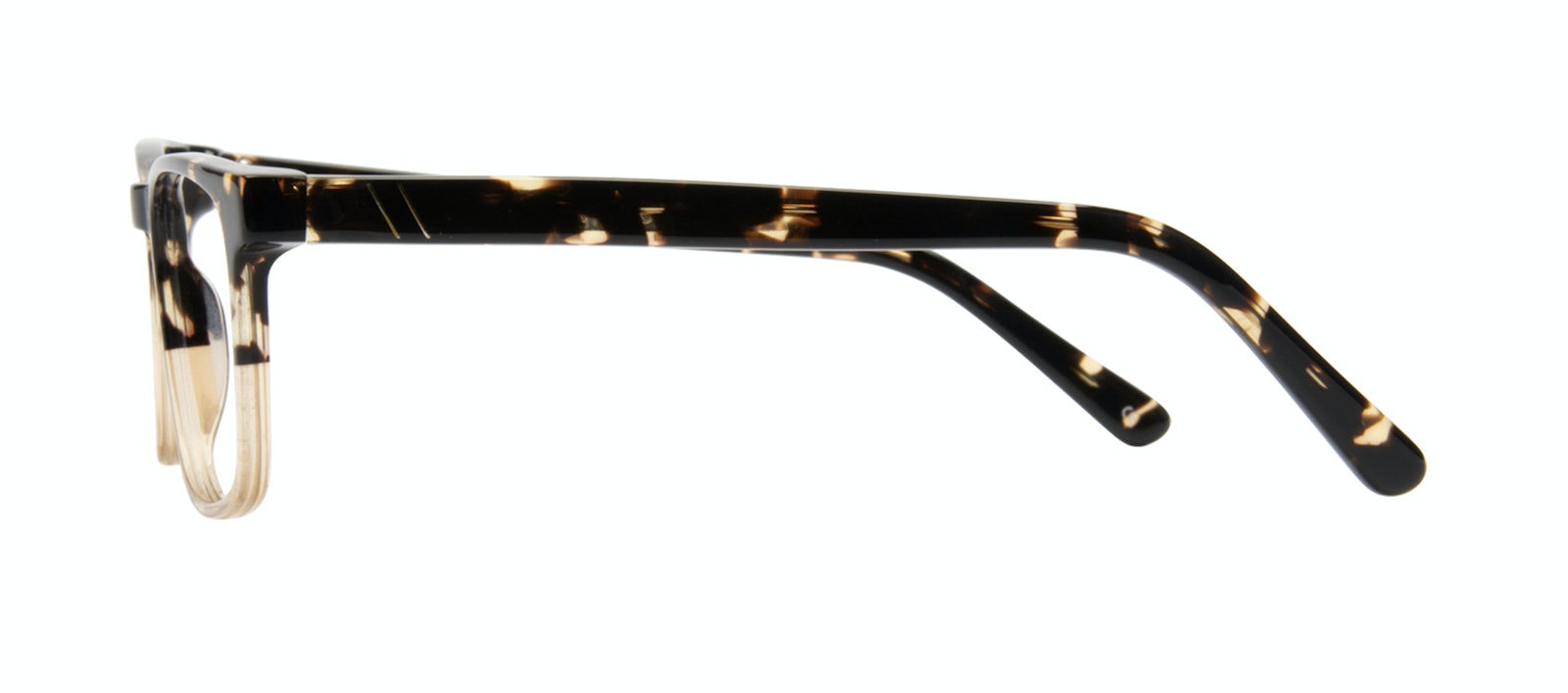 Affordable Fashion Glasses Rectangle Eyeglasses Men Loft Golden Tortoise Side