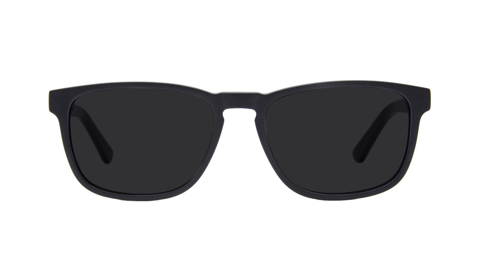 Lunettes tendance Rectangle Lunettes de soleil Hommes Loft Black Matte