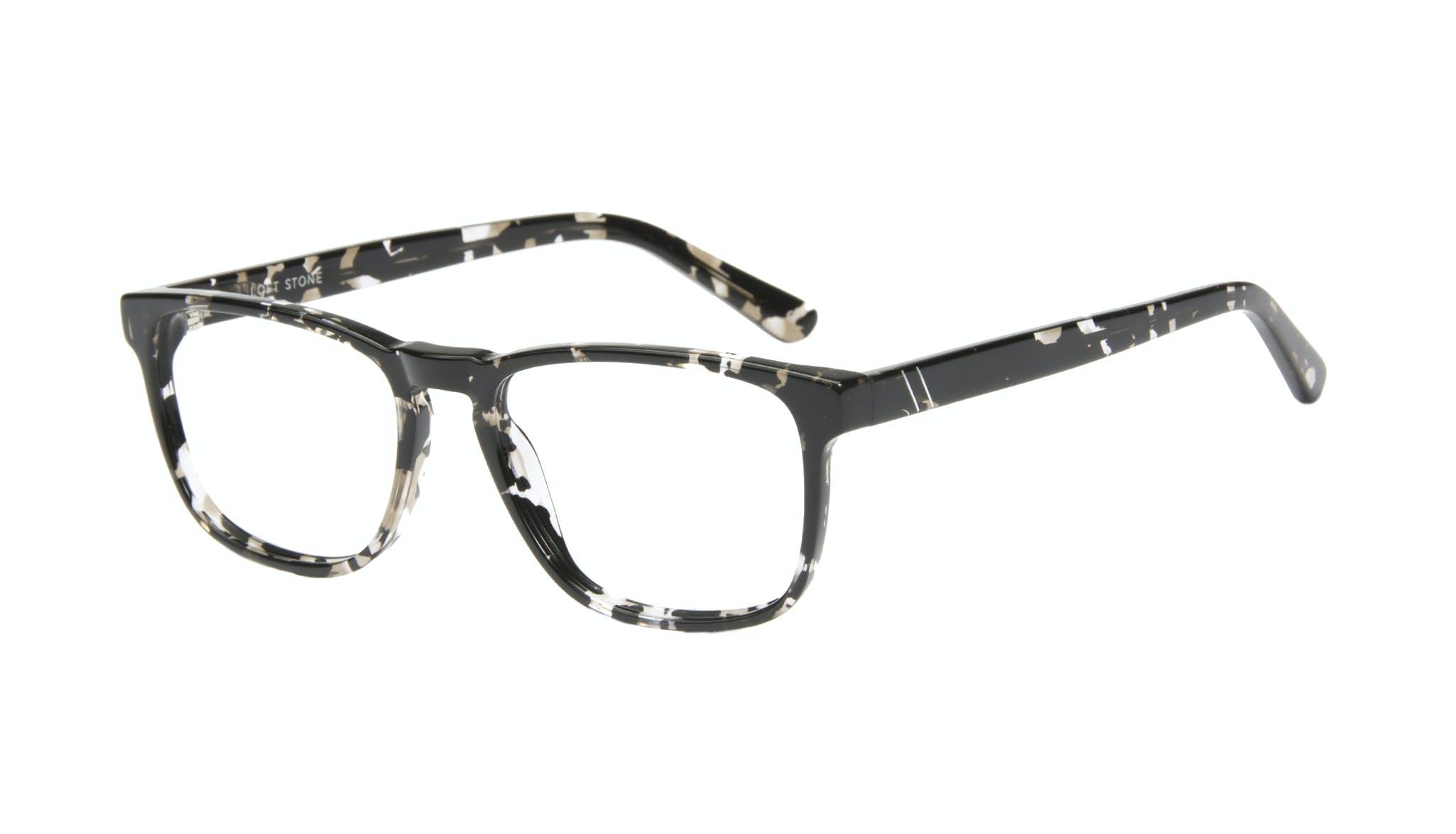 Affordable Fashion Glasses Rectangle Eyeglasses Men Loft Stone Tilt
