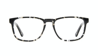 Affordable Fashion Glasses Rectangle Eyeglasses Men Loft Stone Front