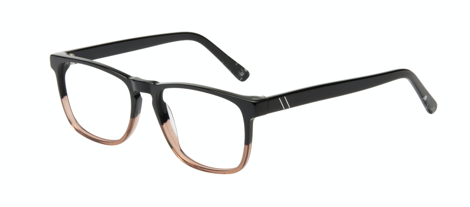 Affordable Fashion Glasses Rectangle Eyeglasses Men Loft Wood Terra Tilt