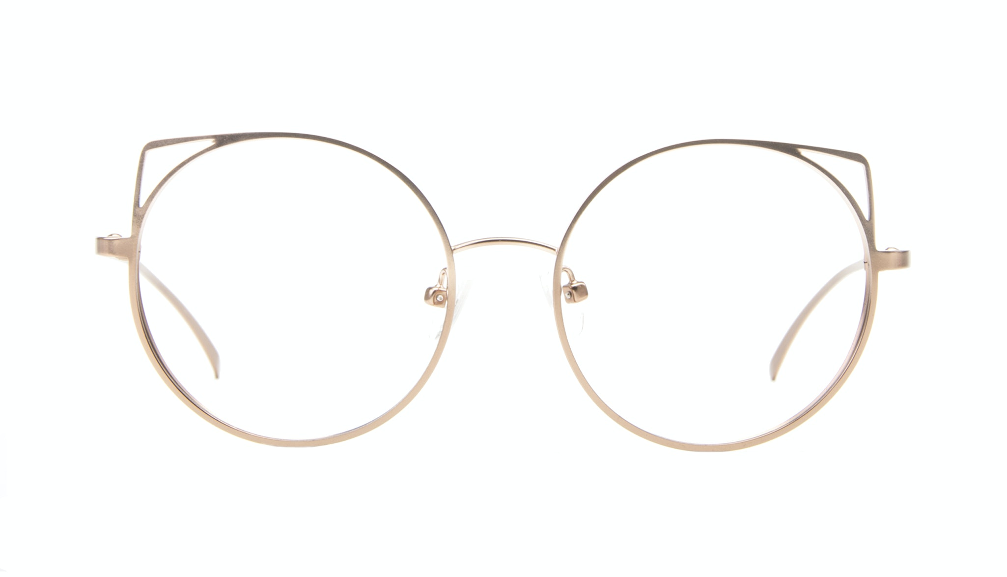 Affordable Fashion Glasses Cat Eye Round Eyeglasses Women Lolly Baby Britain Front