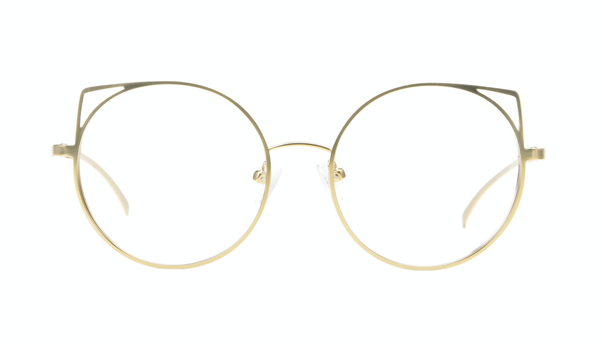 Affordable Fashion Glasses Cat Eye Round Eyeglasses Women Lolly Lady Midnight Front