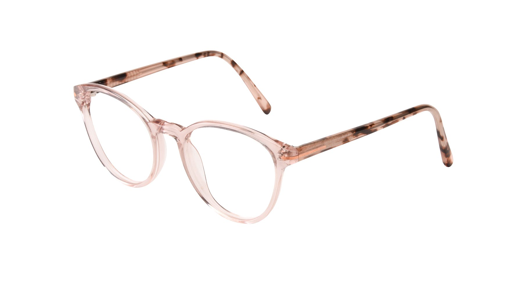 Affordable Fashion Glasses Round Eyeglasses Women London Blush Tilt