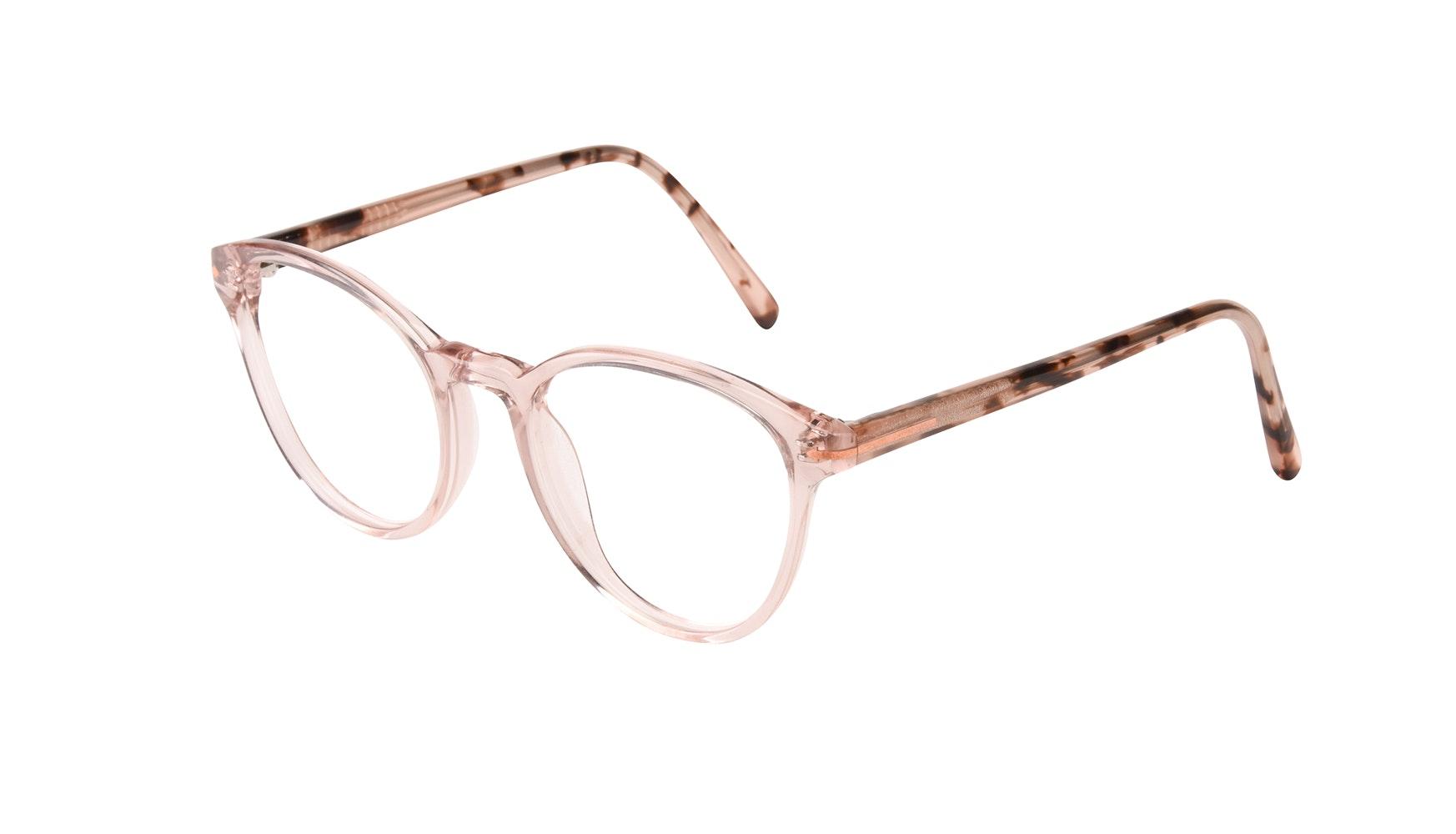 Affordable Fashion Glasses Round Eyeglasses Women London Blush Tilt