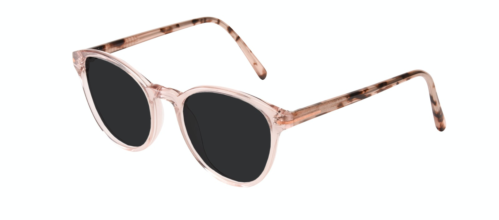 Affordable Fashion Glasses Round Sunglasses Women London Blush Tilt