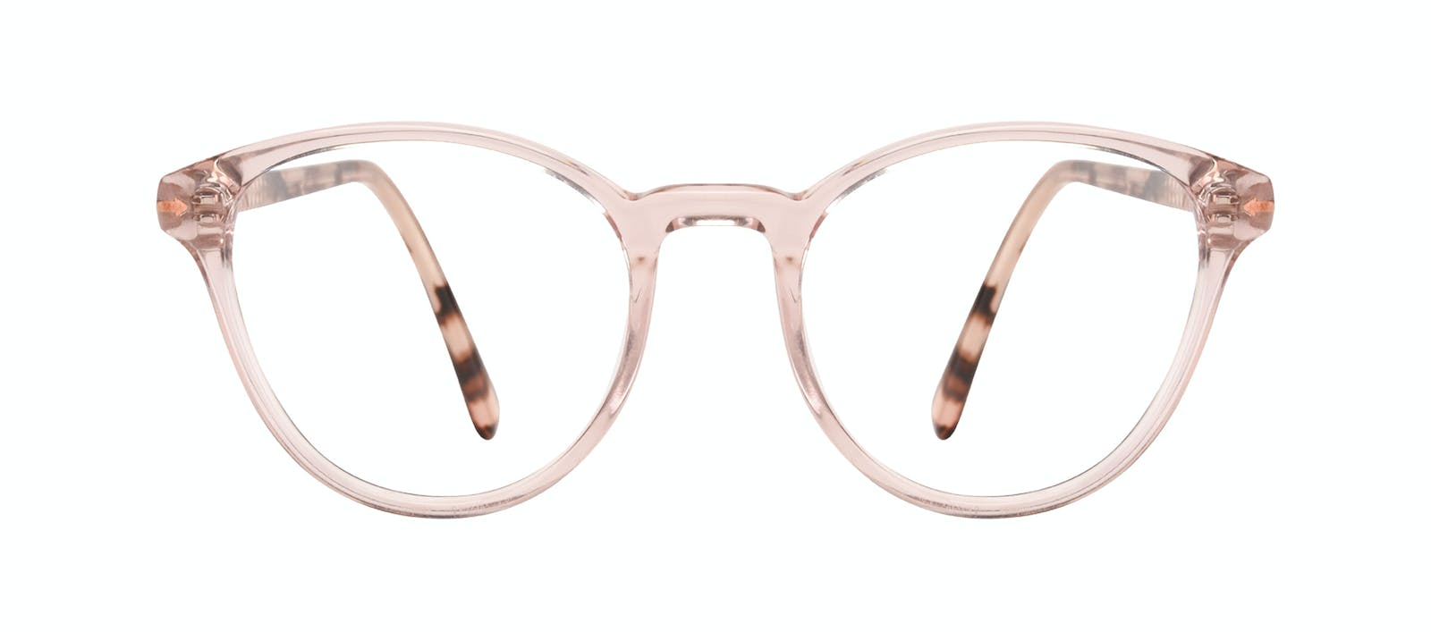 e6095d9689 Affordable Fashion Glasses Round Eyeglasses Women London Blush Front