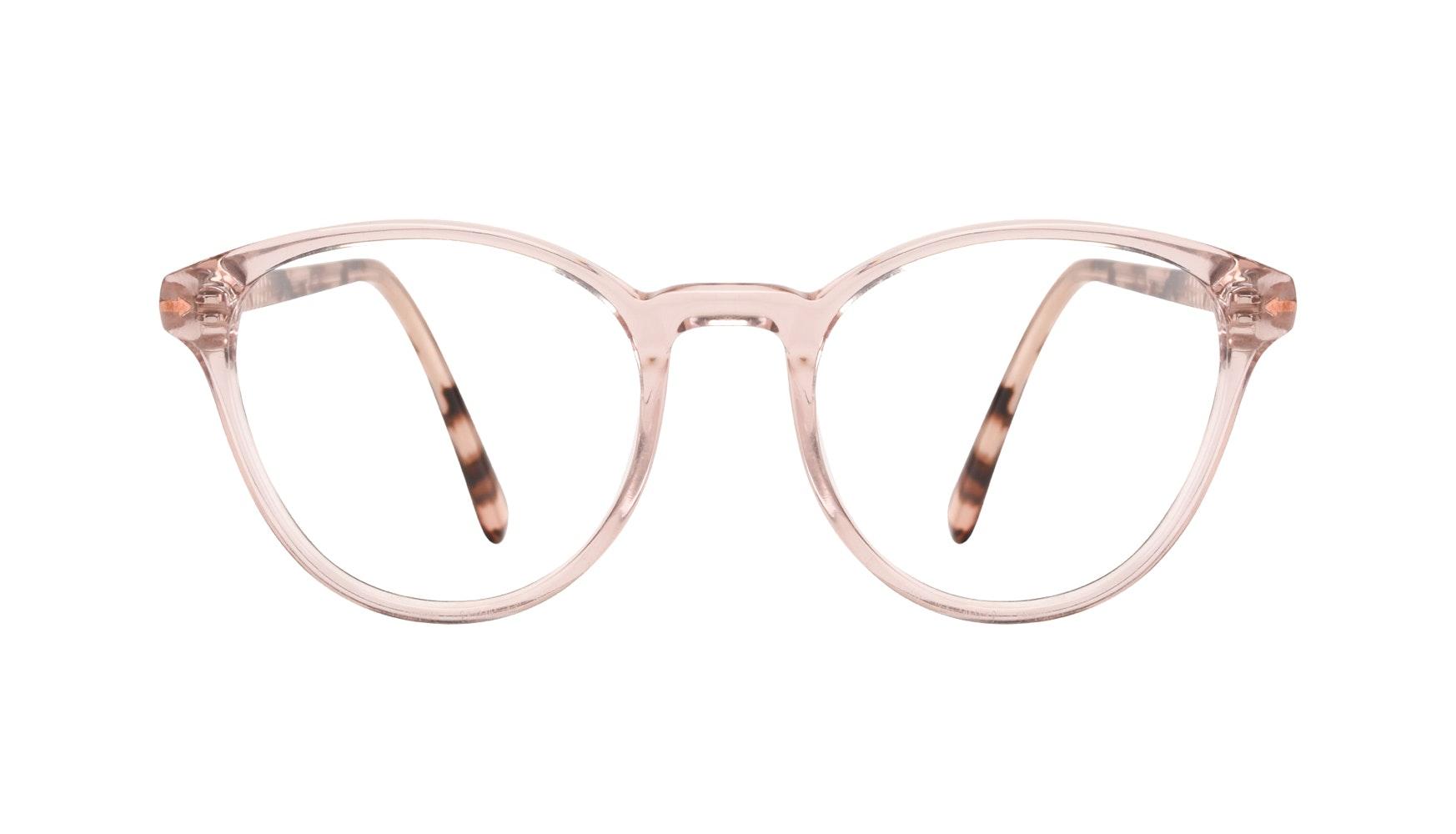 Affordable Fashion Glasses Round Eyeglasses Women London Blush Front