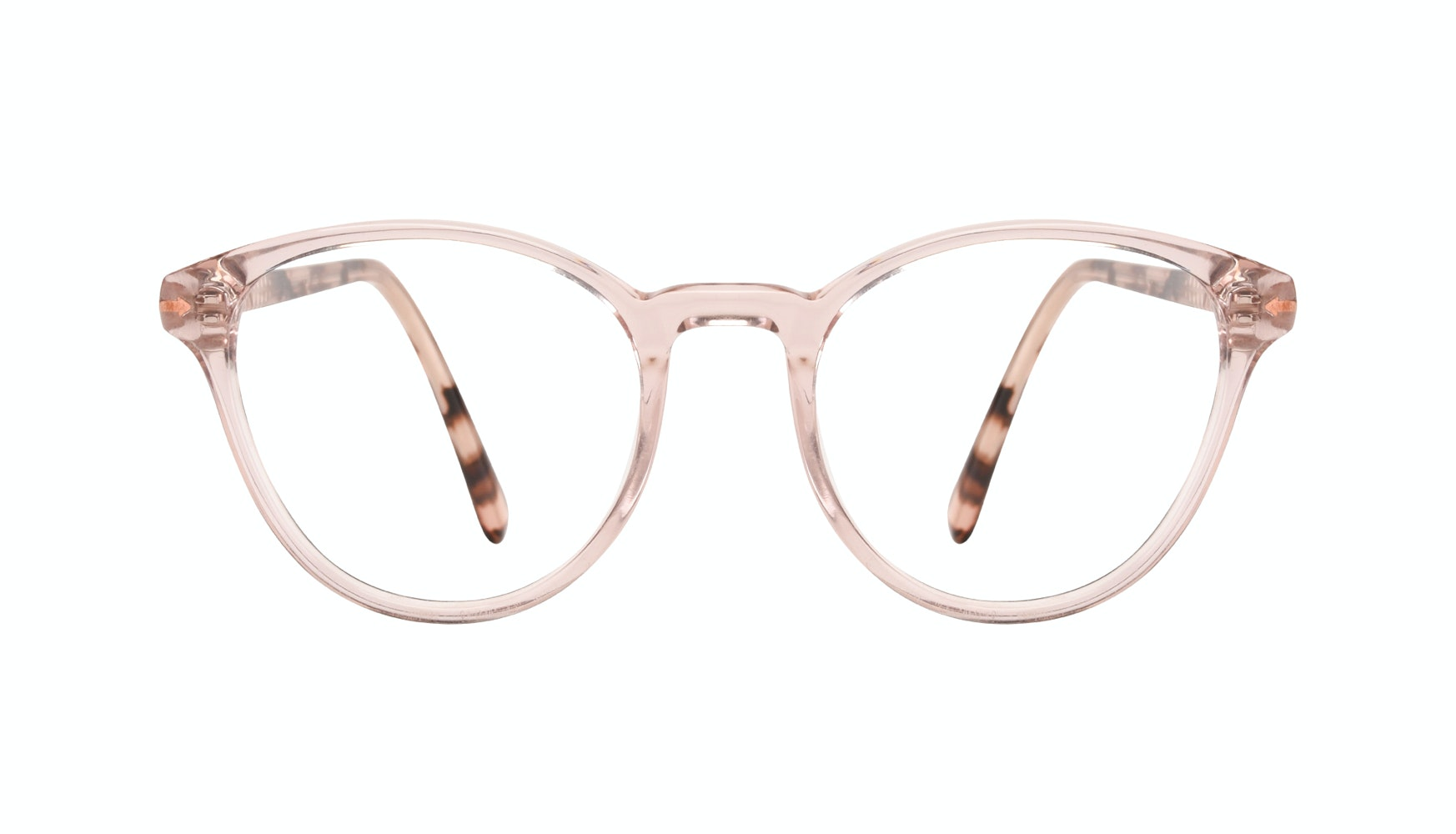 Affordable Fashion Glasses Round Eyeglasses Women London Blush