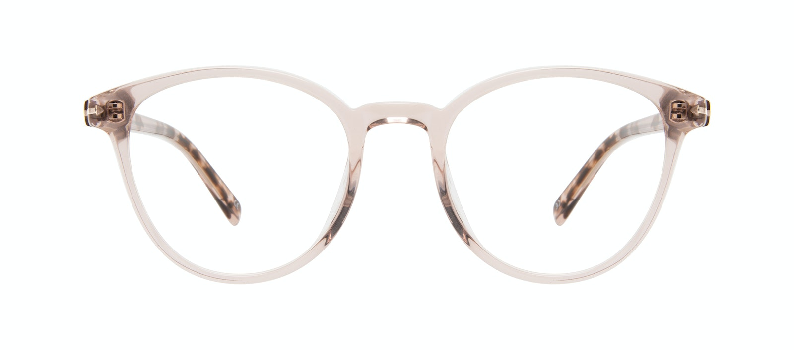 Affordable Fashion Glasses Round Eyeglasses Women London Blush Front