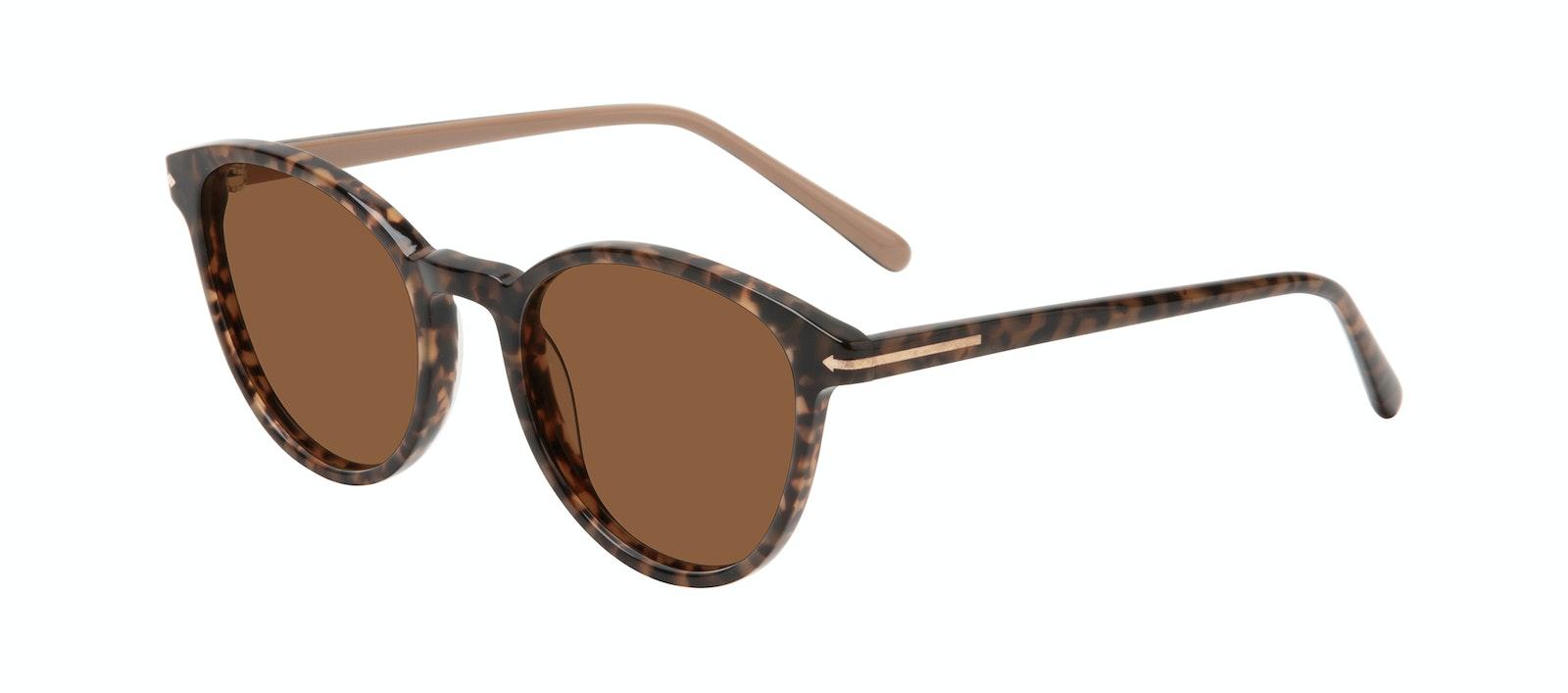 Affordable Fashion Glasses Round Sunglasses Women London Leo Tilt