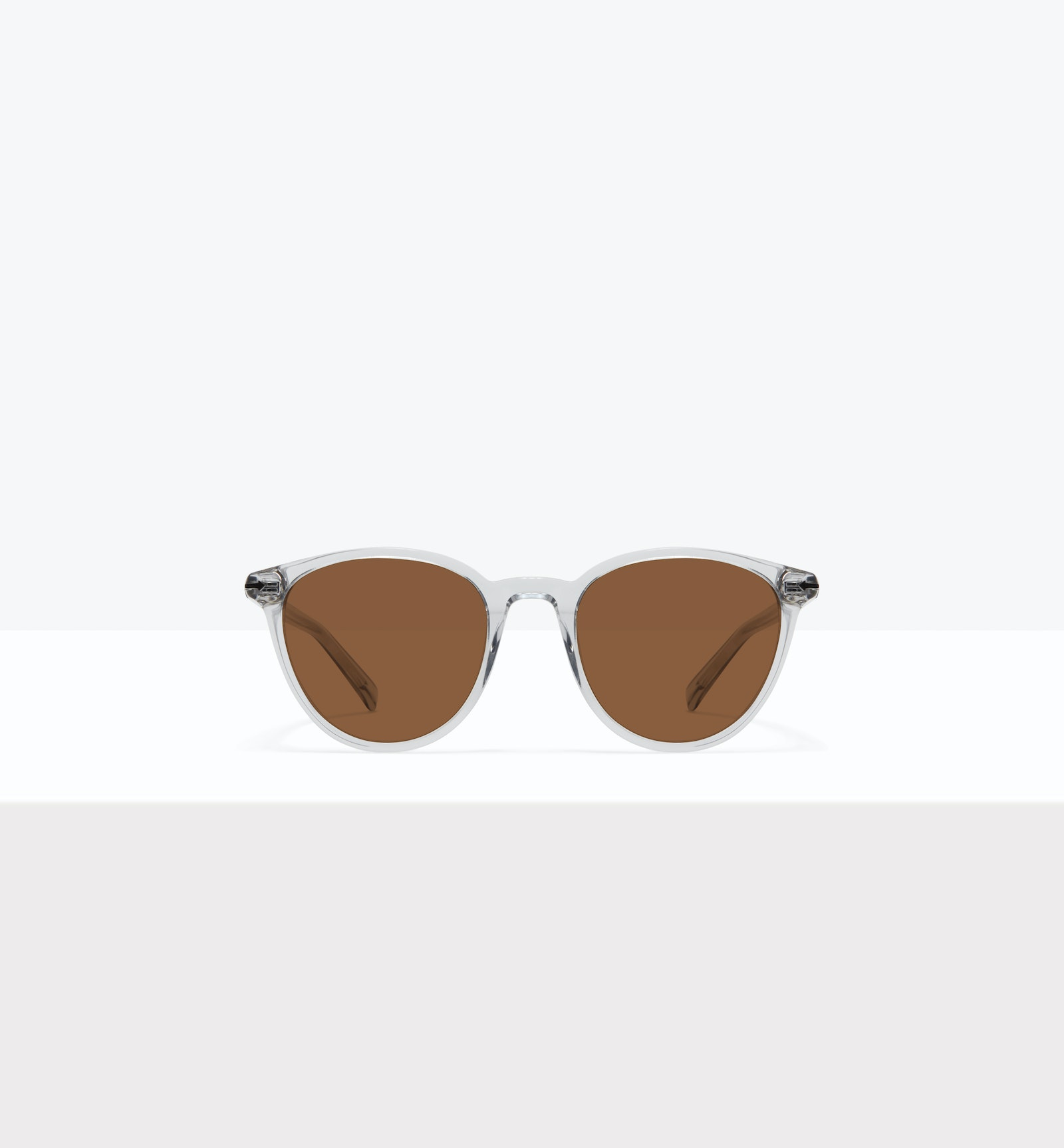 Affordable Fashion Glasses Round Sunglasses Women London Taupe