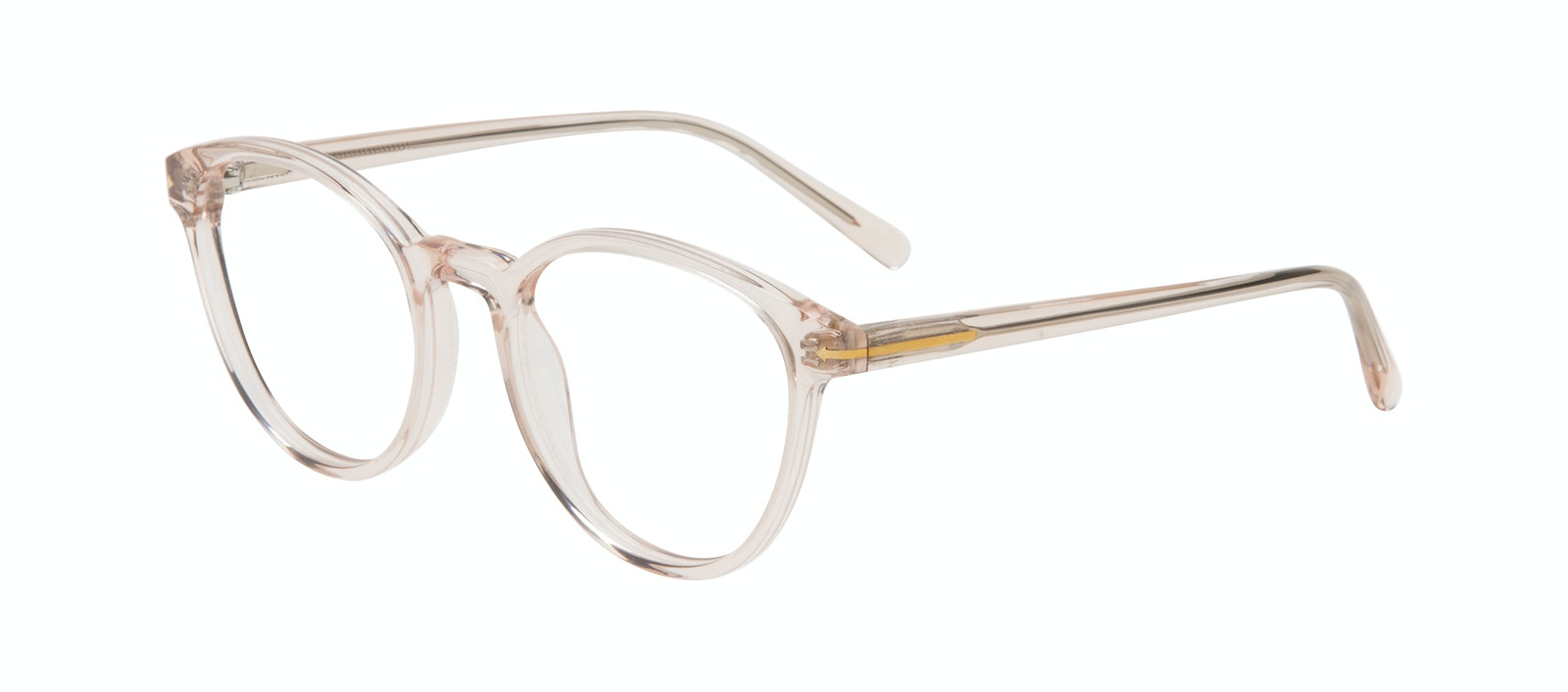 Affordable Fashion Glasses Round Eyeglasses Women London Vanilla Tilt