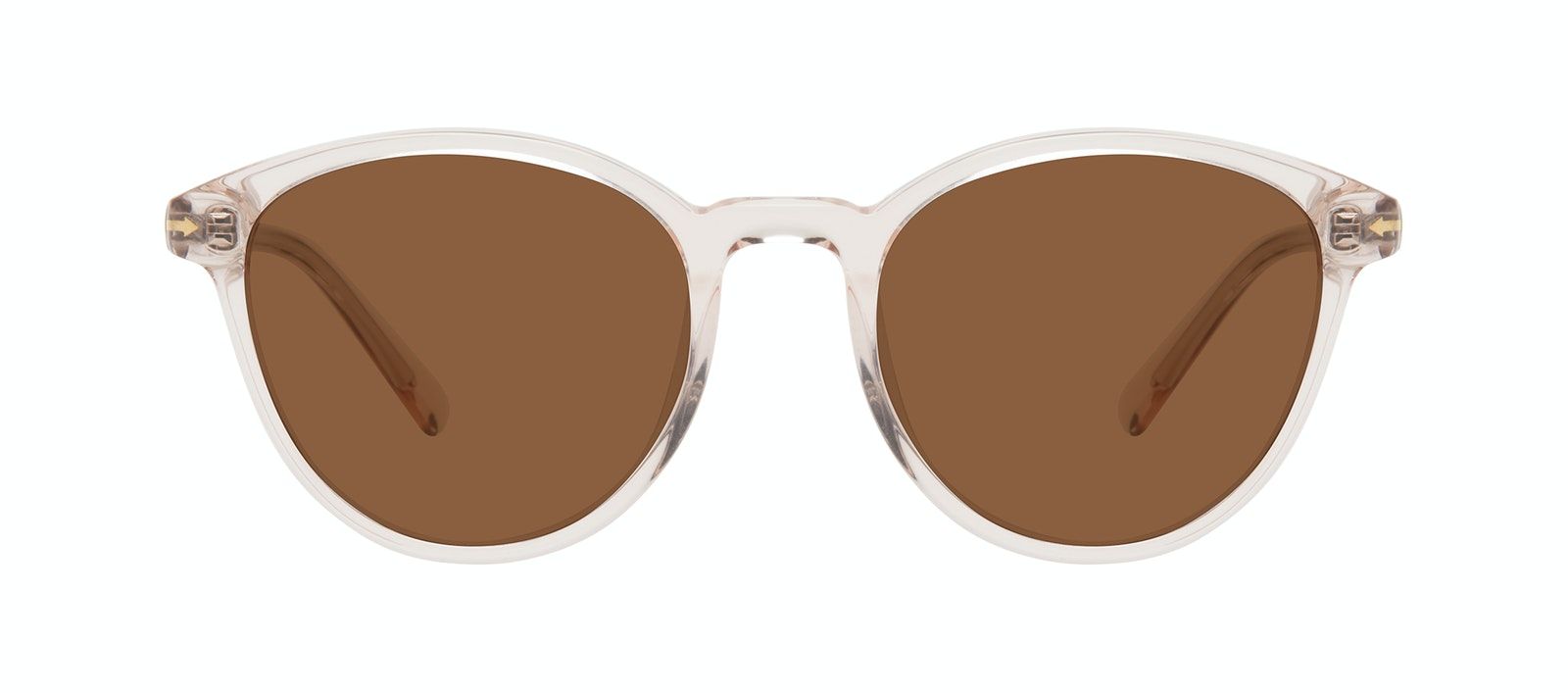 Affordable Fashion Glasses Round Sunglasses Women London Vanilla Front