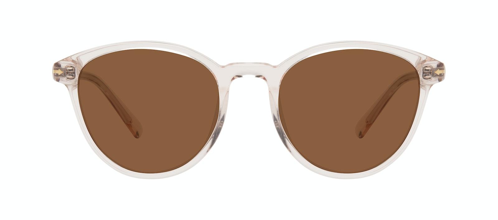 Affordable Fashion Glasses Round Sunglasses Women London Vanilla Front