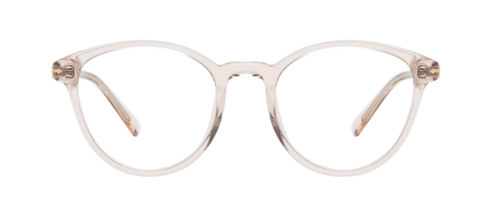 Lunettes tendance Ronde Lunettes de vue Femmes London Vanilla Face