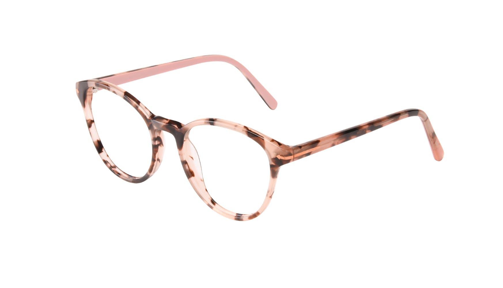 Affordable Fashion Glasses Round Eyeglasses Women London Wisteria Tilt