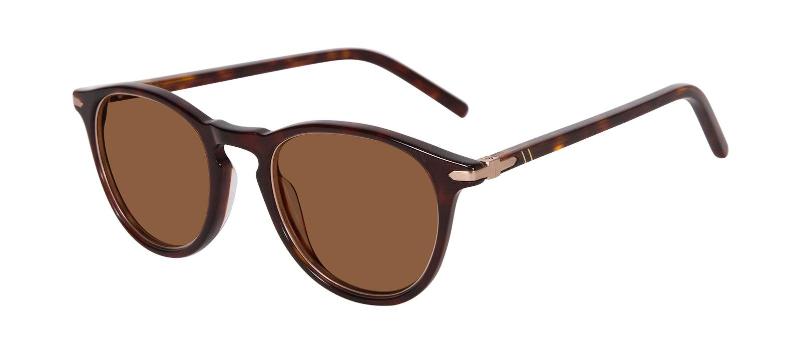 Affordable Fashion Glasses Round Sunglasses Men Looks Tortoise Tilt