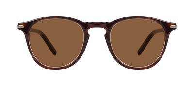 Affordable Fashion Glasses Round Sunglasses Men Looks Tortoise Front