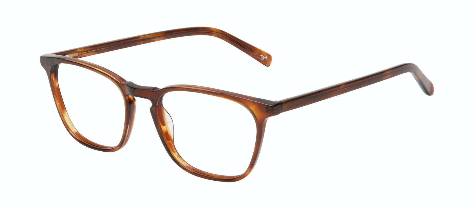 Affordable Fashion Glasses Square Eyeglasses Men Louise XL Cedar Tilt