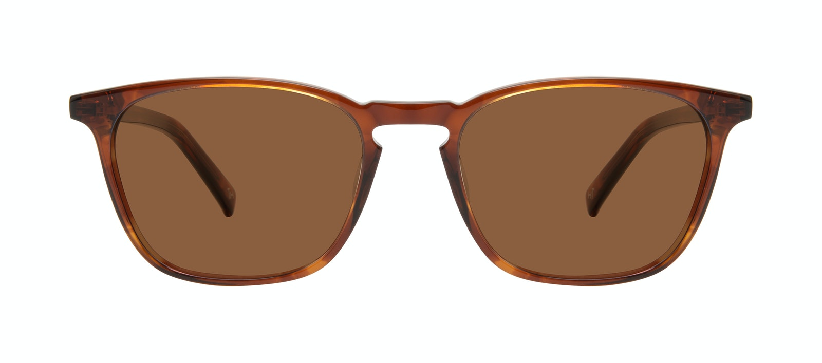 Affordable Fashion Glasses Square Sunglasses Men Louise XL Cedar Front