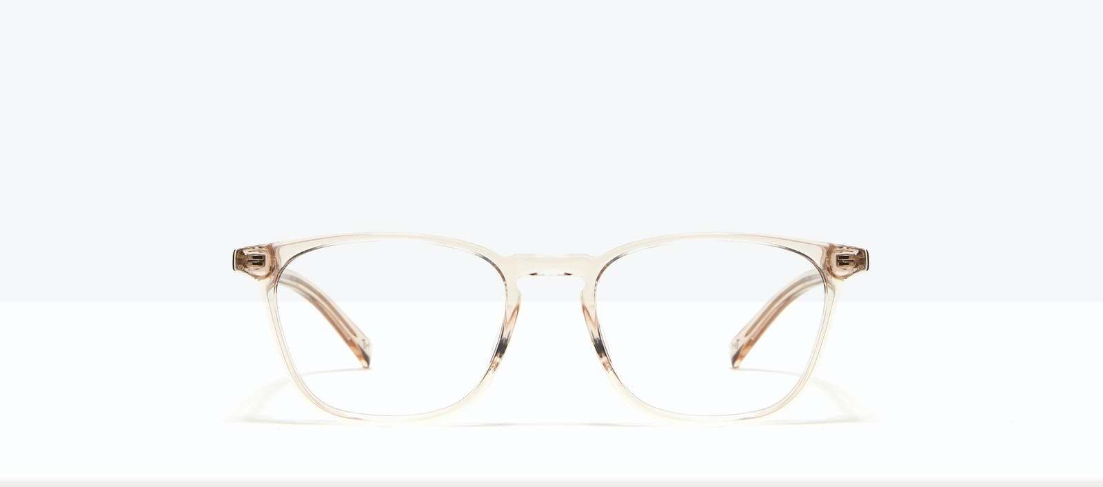 Affordable Fashion Glasses Square Eyeglasses Men Louise M Clay Front