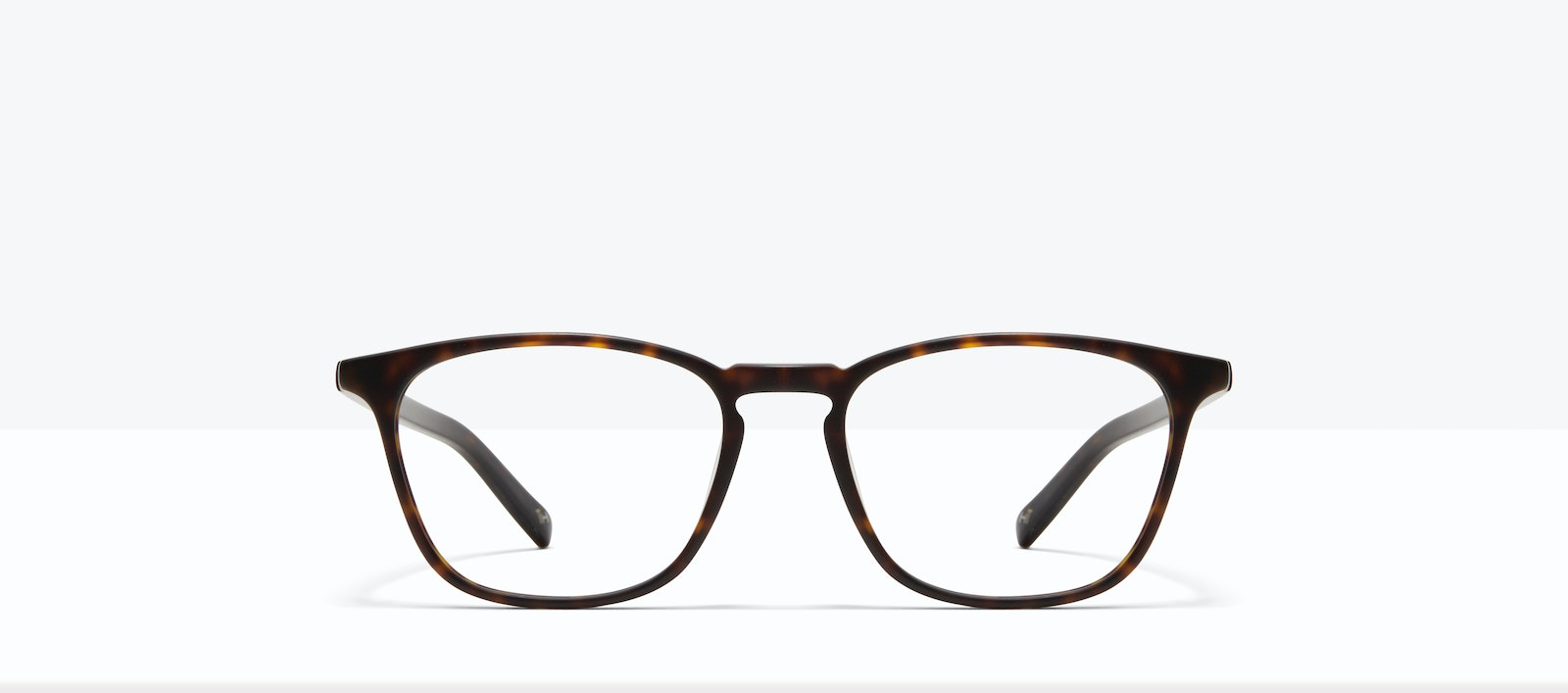 Affordable Fashion Glasses Square Eyeglasses Men Louise XL Matte Tortoise Front