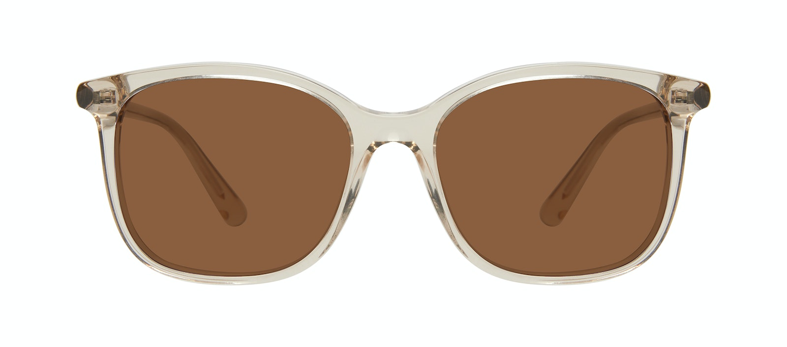 Affordable Fashion Glasses Square Sunglasses Women Luna Olive Front