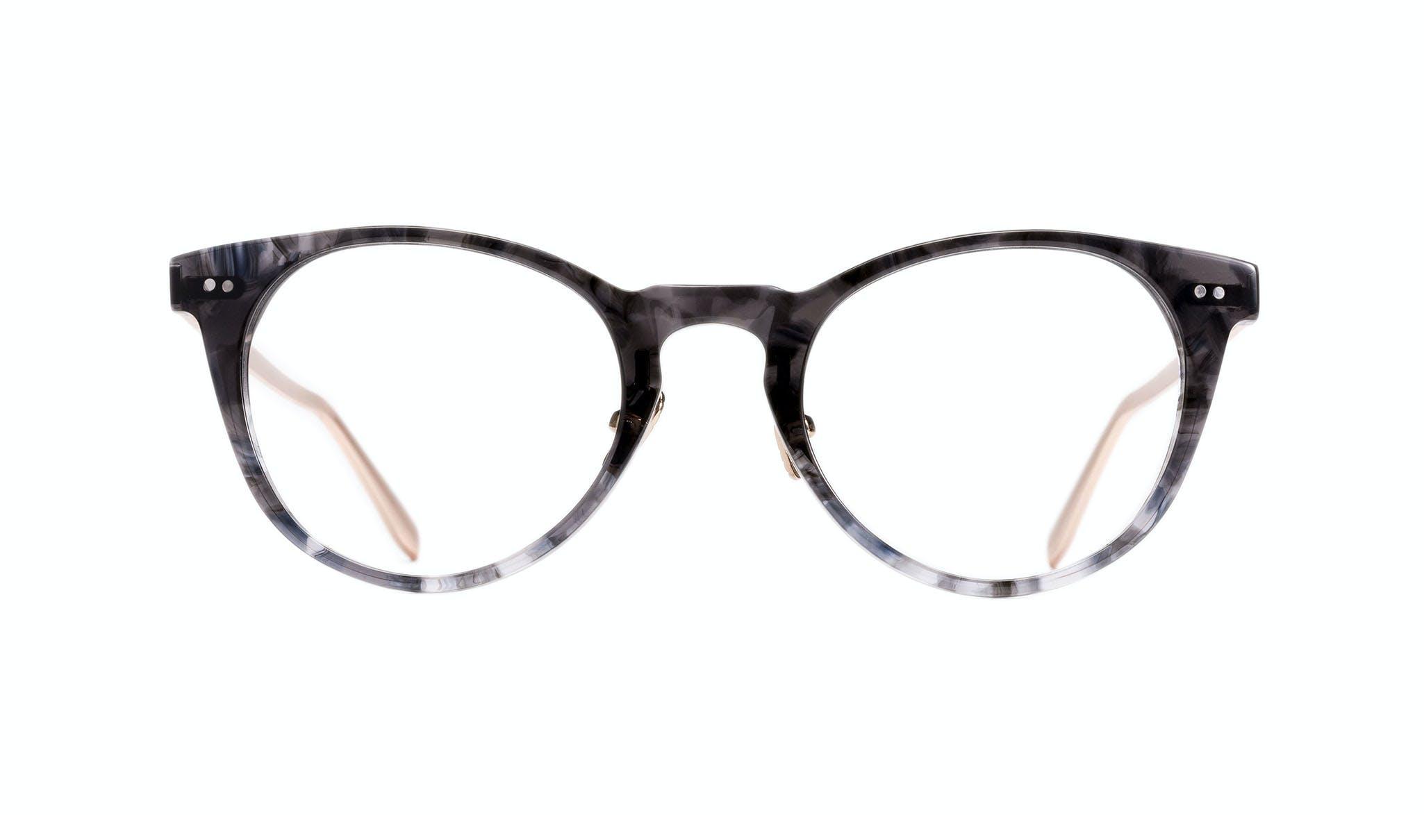 Affordable Fashion Glasses Round Eyeglasses Women Luv Dark Night Front