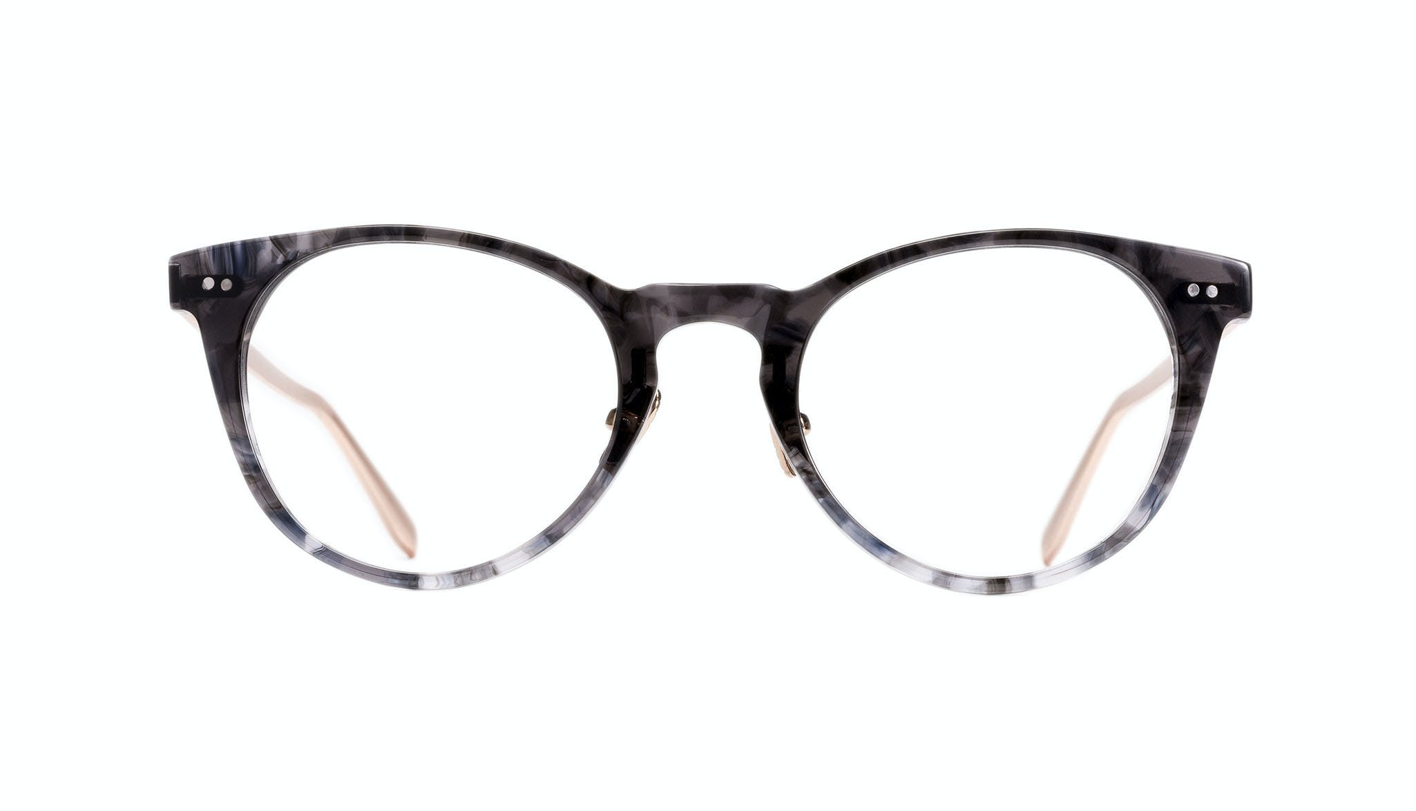 Affordable Fashion Glasses Round Eyeglasses Women Luv Dark Night Front