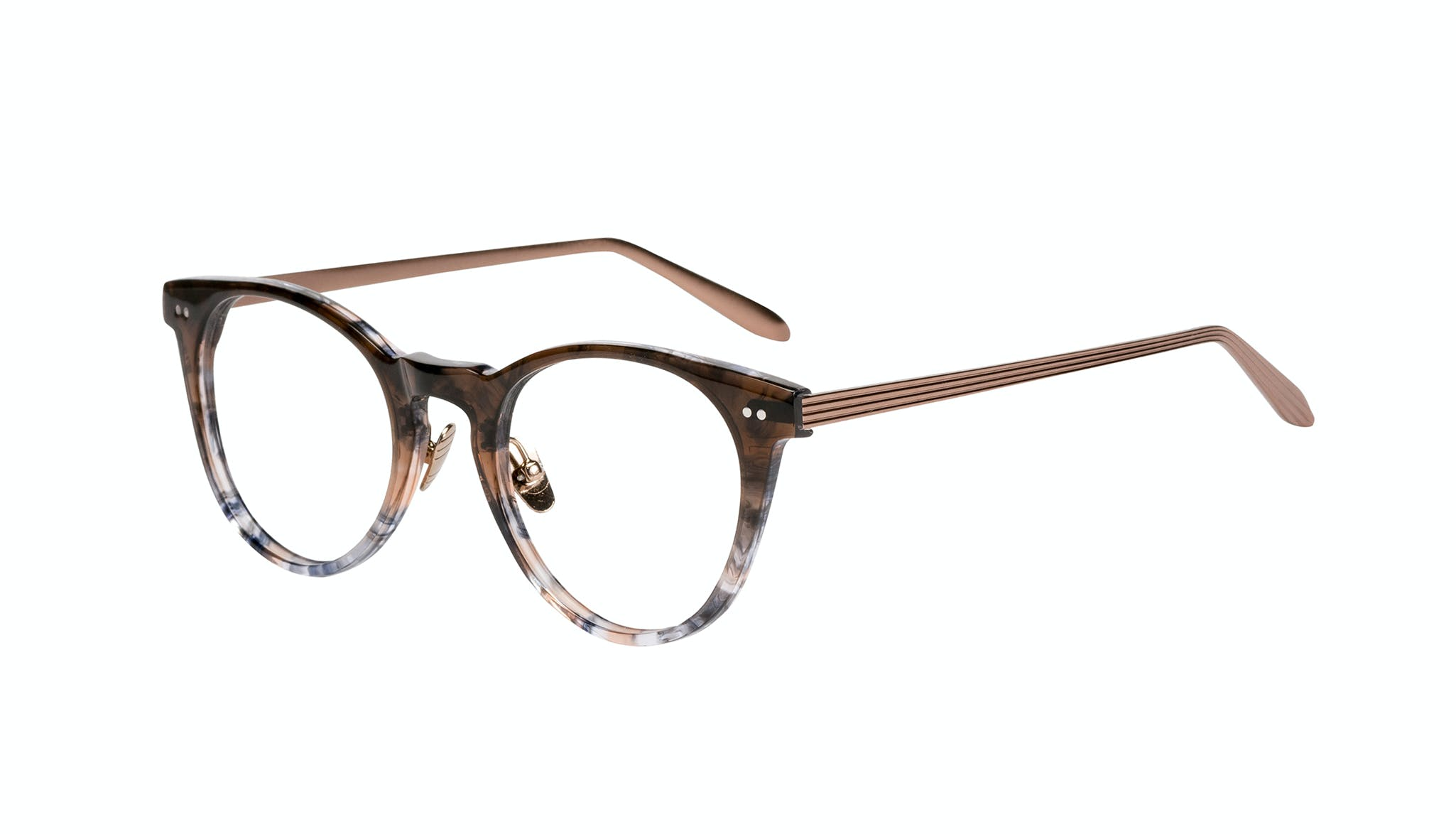 Affordable Fashion Glasses Round Eyeglasses Women Luv Moon Dust Tilt