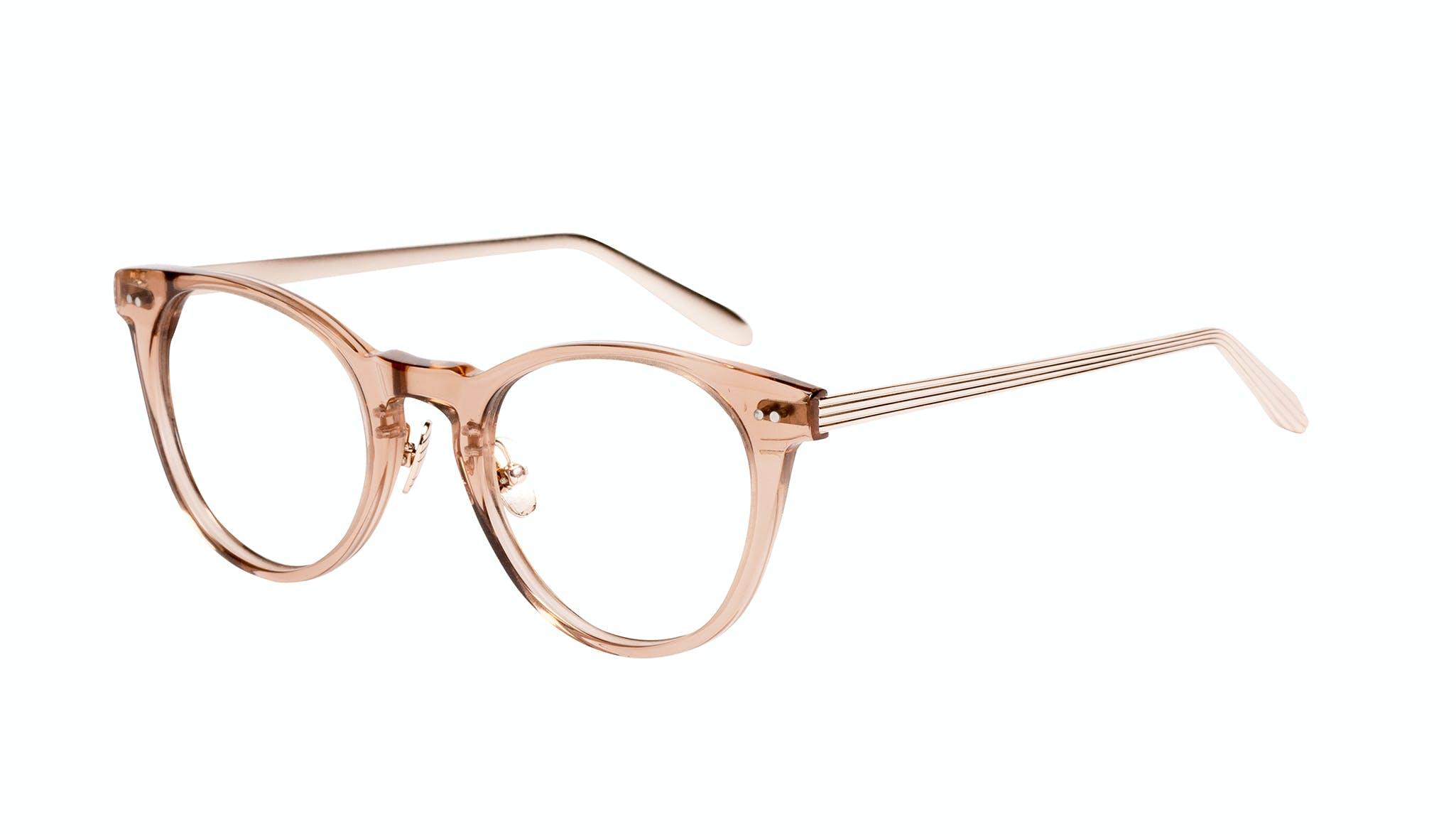 Affordable Fashion Glasses Round Eyeglasses Women Luv Rose Tilt