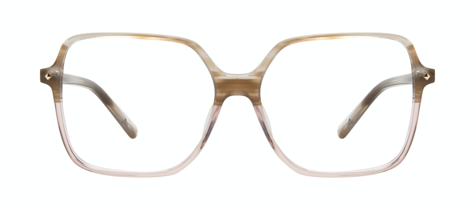 Affordable Fashion Glasses Square Eyeglasses Women Major Rosewood Front