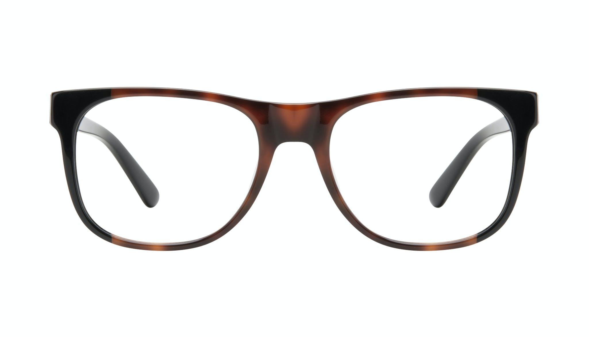 Affordable Fashion Glasses Square Eyeglasses Men Make Black Tort Front