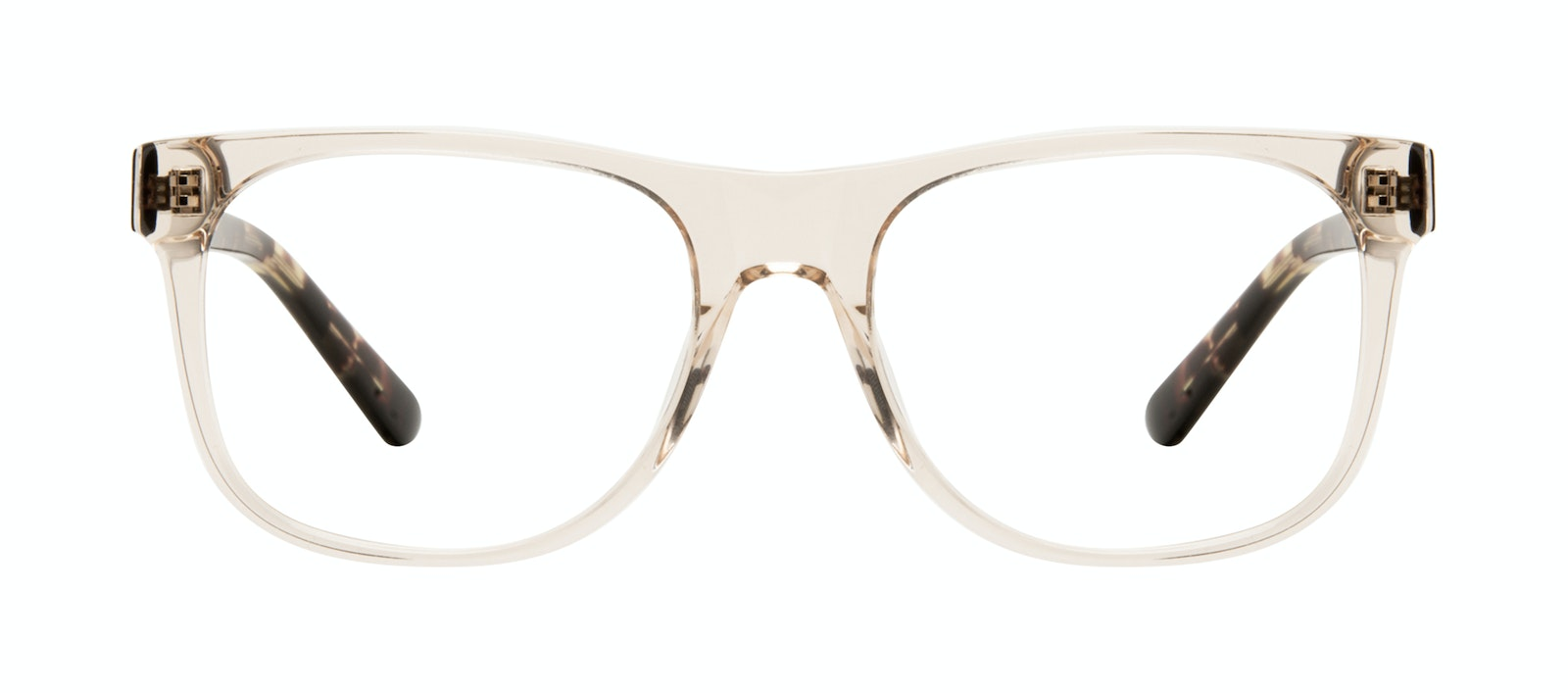 Affordable Fashion Glasses Square Eyeglasses Men Make Golden Tort Front