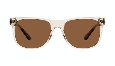 Affordable Fashion Glasses Square Sunglasses Men Make Golden Tort Front