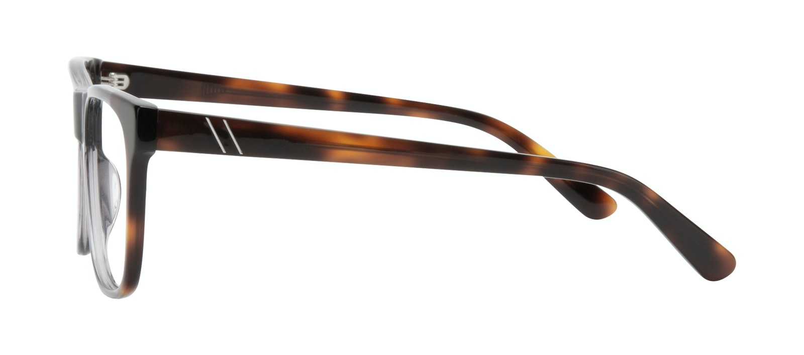 Affordable Fashion Glasses Square Eyeglasses Men Make Smokey Tort Side
