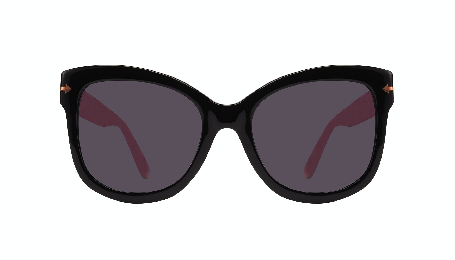 Affordable Fashion Glasses Cat Eye Square Sunglasses Women Marlo Carbon