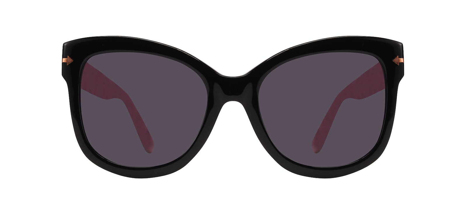 Affordable Fashion Glasses Cat Eye Square Sunglasses Women Marlo Carbon Front