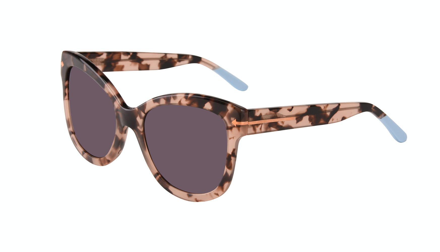 Affordable Fashion Glasses Cat Eye Square Sunglasses Women Marlo Coastal Tilt