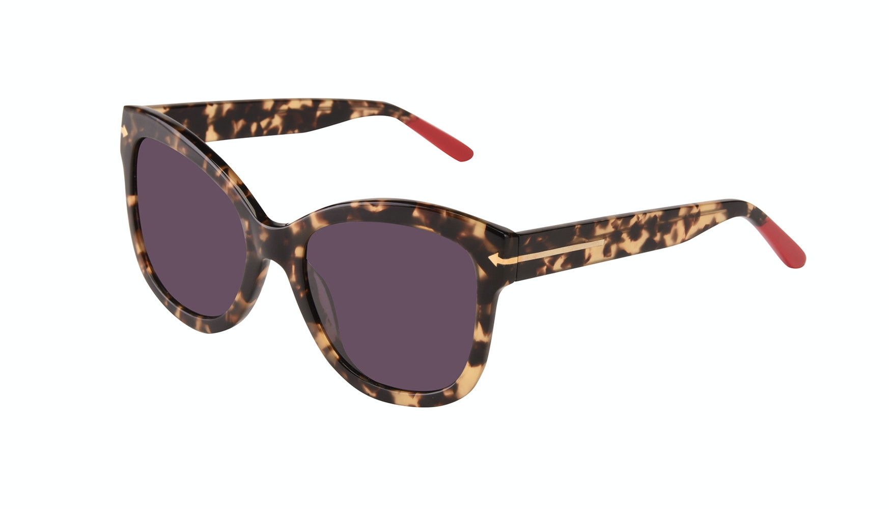 Affordable Fashion Glasses Cat Eye Square Sunglasses Women Marlo Espresso Tilt