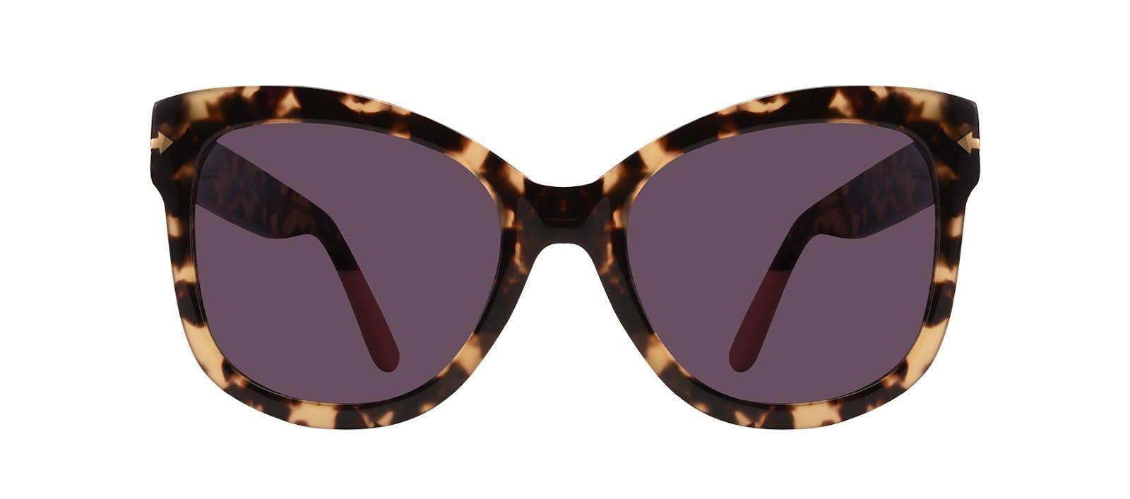 bda9f03409 Affordable Fashion Glasses Cat Eye Square Sunglasses Women Marlo Espresso  Front